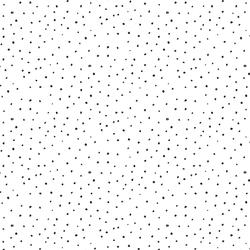 Valentine Dot in Black on White