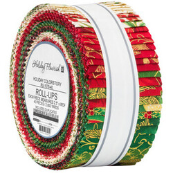 """Holiday Flourish 15 2.5"""" Strip Roll in Holiday Colorstory"""