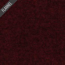 Tweed Flannel in Burgundy