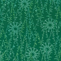 Evergreens in Forest