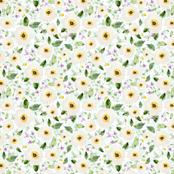 Small Iced Floral in Sweet
