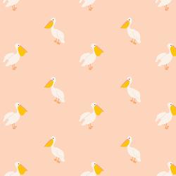 Pelican in Summer Blush