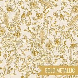 Colette in Cream Metallic
