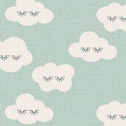 Sleepy Clouds in Fresh Mint