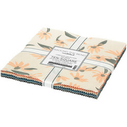 """Around the Bend Linen 10"""" Square Pack"""