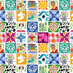 Tiles in White