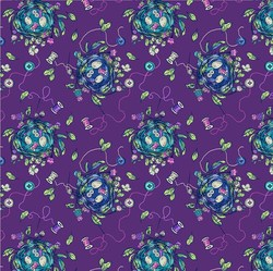 Sew Bountiful in Purple Multi