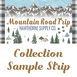 Mountain Road Trip Sample Strip