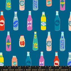 Pop Bottles in Dark Raspberry