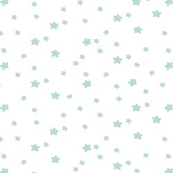 Star Light in Mint on White