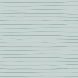 Woodland Stripe in Dusty Mint