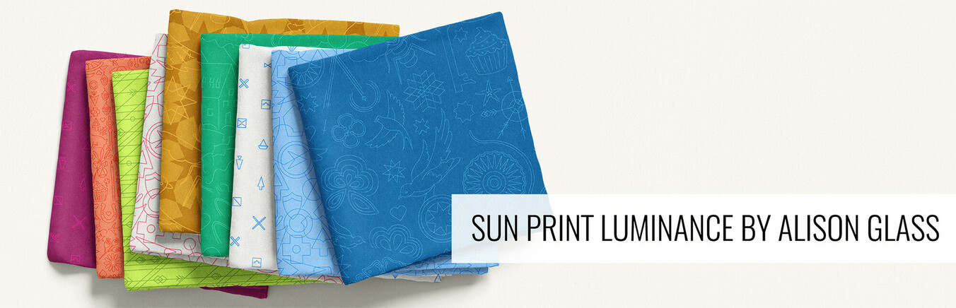 Sun Print Luminance by Alison Glass