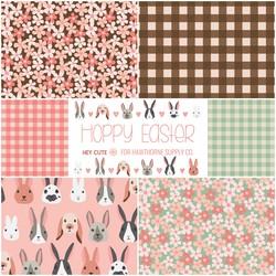 Hoppy Easter Fat Quarter Bundle Big Scale