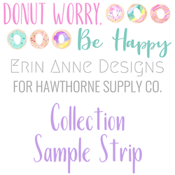 Donut Worry, Be Happy Sample Strip