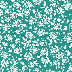 Daisies in Jade