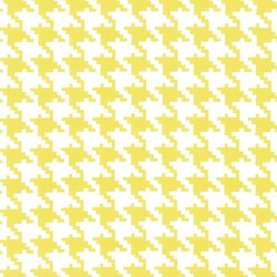 Everyday Houndstooth in Starfruit