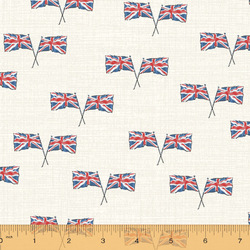 Union Jack in Ivory