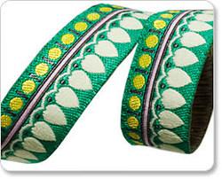 Sari Petal in Cream and Green