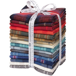 Mammoth Flannel Fat Quarter Bundle in New Colors 2020