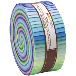 "Kona Solid 2.5"" Strip Roll in Sunset"