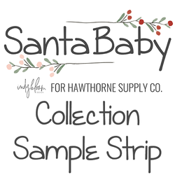 Santa Baby Sample Strip