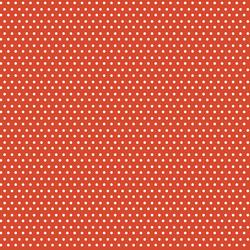 Polka Dots in Orange