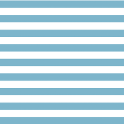Horizontal Candy Stripe in Surf