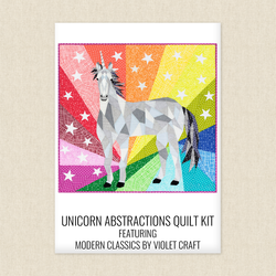 Unicorn Abstractions Quilt Kit
