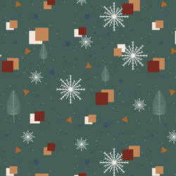 A Winter Night in Pine