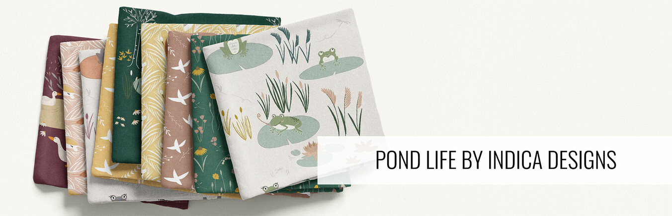 Pond Life by Indica Designs