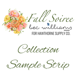 Fall Soiree Sample Strip