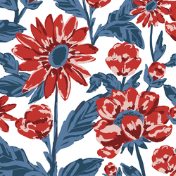 Large Firecracker Floral in Liberty