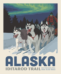 Poster Panel in Iditarod Trail