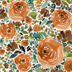 Copper Roses in Soft Pink