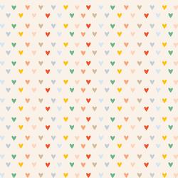 Rainbow Hearts in Summer Sunshine