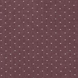 Chambray Dots in Burgundy