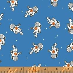 Astronauts in Blue