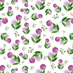 Lilacs in Violet
