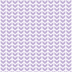 Broken Chevron in Lilac