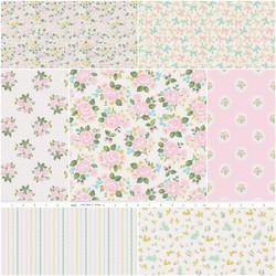 Milk & Honey Fat Quarter Bundle in Silky