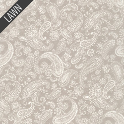 New Paisley in Grey