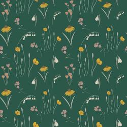 Mini Meadow in Green