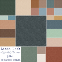 Linen Look Solids Fat Quarter Bundle