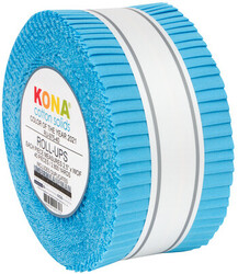"""Kona Solid 2.5"""" Strip Roll in Horizon (2021 Color of the Year)"""