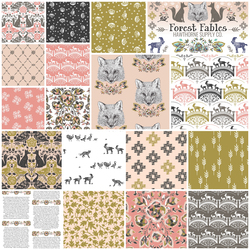 Forest Fables Fat Quarter Bundle Harvest