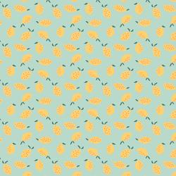 Little Lemons in Picnic Green