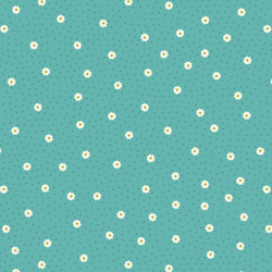 Daisy Dot in Turquoise