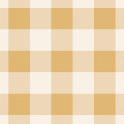 Big Gingham in Soft Honey