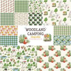 Woodland Camping Fat Quarter Bundle
