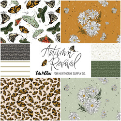 Autumn Revival Fat Quarter Bundle Small Scale